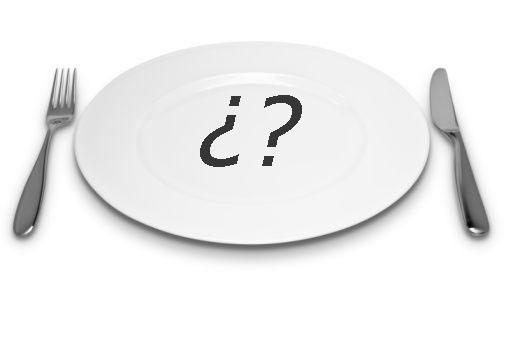 ¿Qué hay de comer?… ¡Comida!