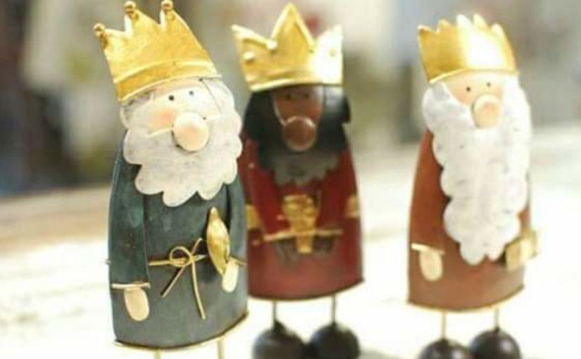 Tres Reyes, tres regalos.