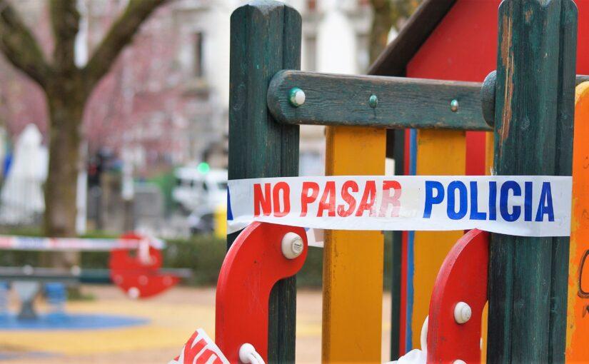 La realidad que oculta el cierre de los parques infantiles.